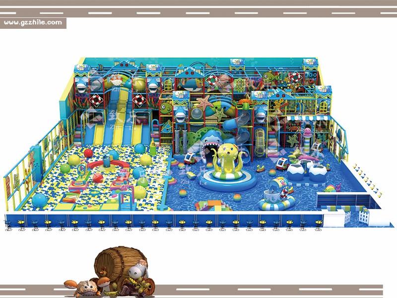 海洋主题儿童乐园淘气堡设计图