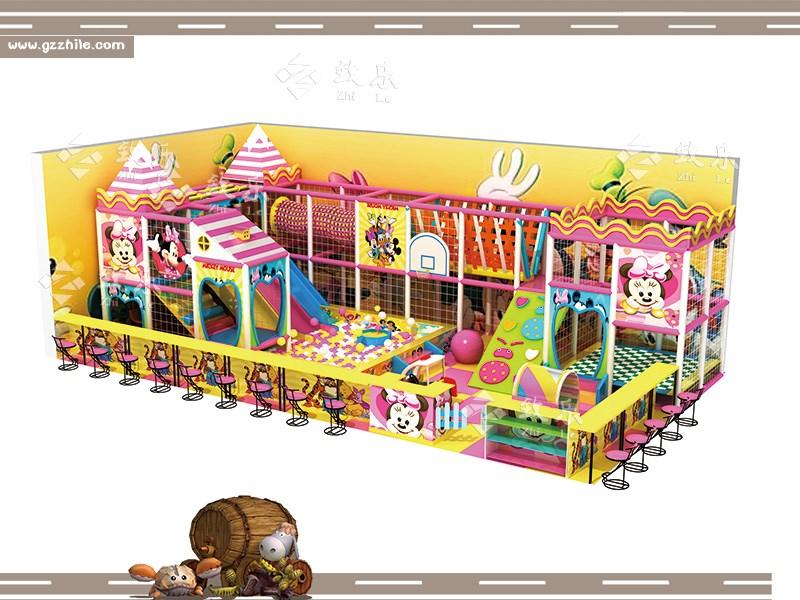 儿童乐园淘气堡设备-广州致乐