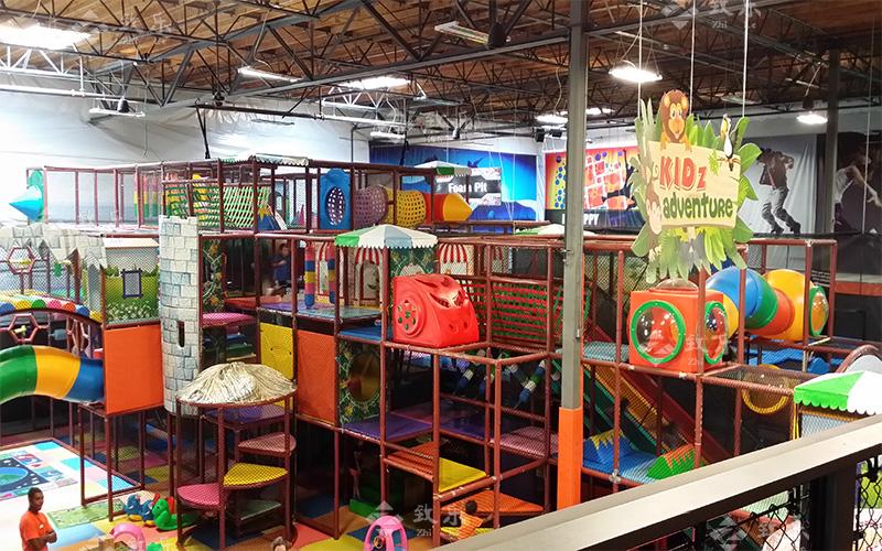 儿童乐园现场案例