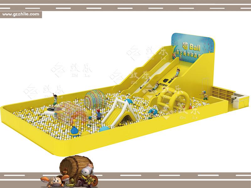 海洋球池图片
