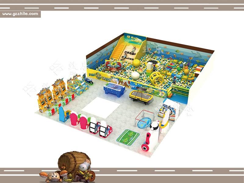 好的室内儿童游乐设备经营策略打造儿童淘气堡品牌