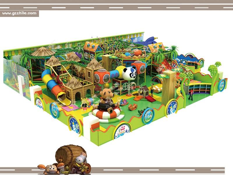 森林主题儿童乐园设计图