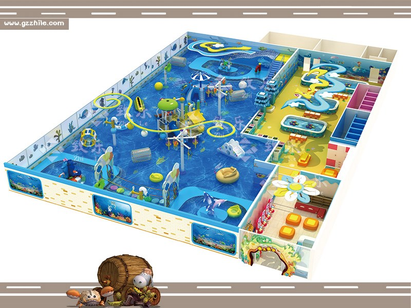 室内水上儿童园效果图片