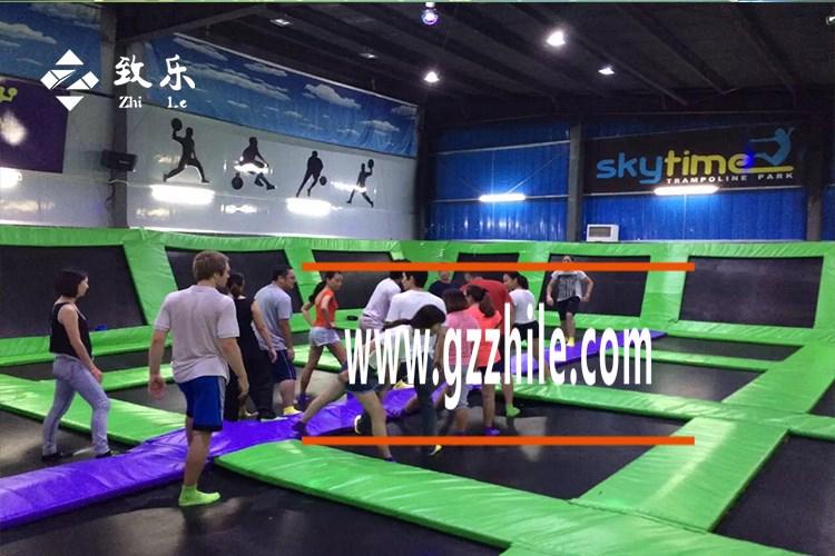 广州致乐告诉大家蹦床公园注意事项