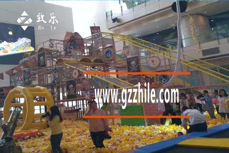 广州致乐室内儿童乐园海洋球池设备
