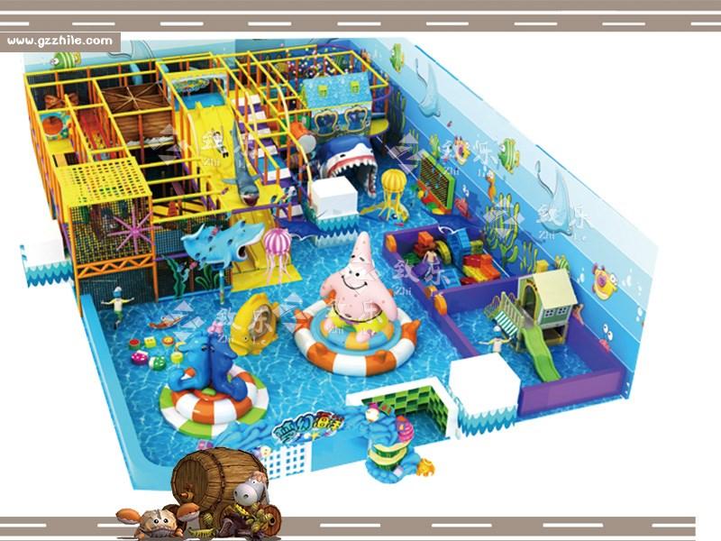 大型淘气堡游乐设施向个性化、主题化方向发展