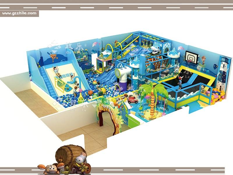 淘气堡设备是以跳,爬,钻,滑,荡,滚,摇等多功能为一体的综合性游乐园。