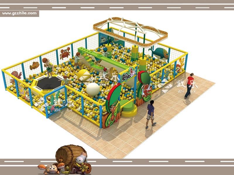 广州致乐新设备海洋球池