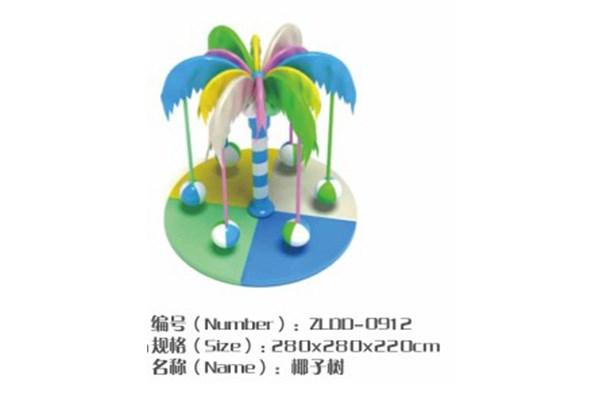 儿童乐园游乐设备-电动椰子树