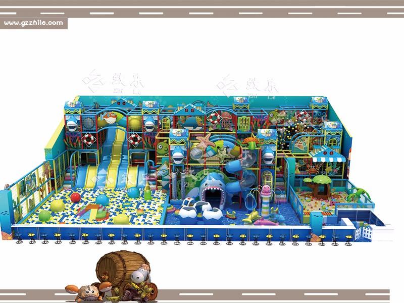 儿童乐园淘气堡专业安装人员上门安装