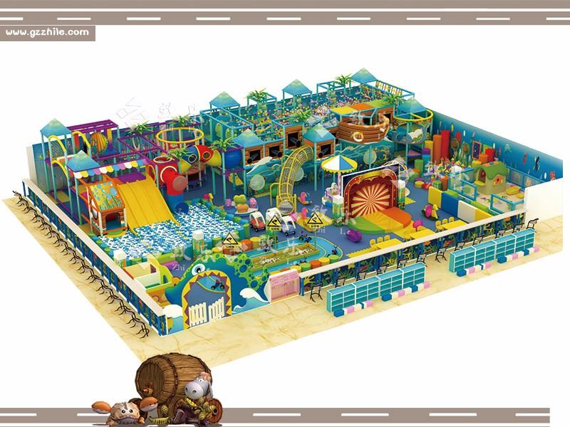 儿童乐园行业之陈旧游乐设备改造的好处www.gzzhile.com