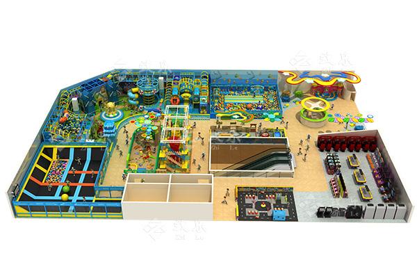 儿童乐园模拟驾校