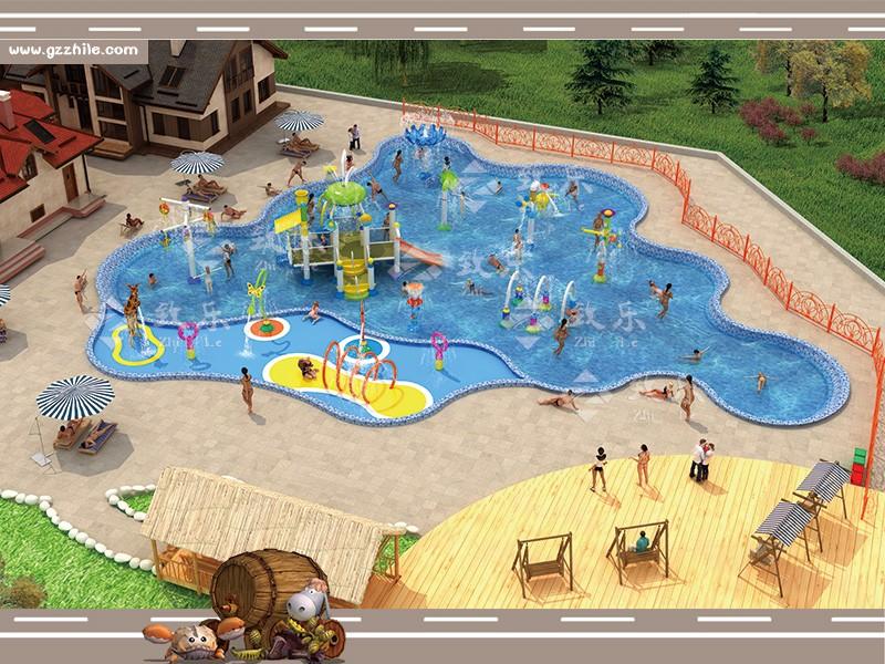 儿童水上乐园效果图