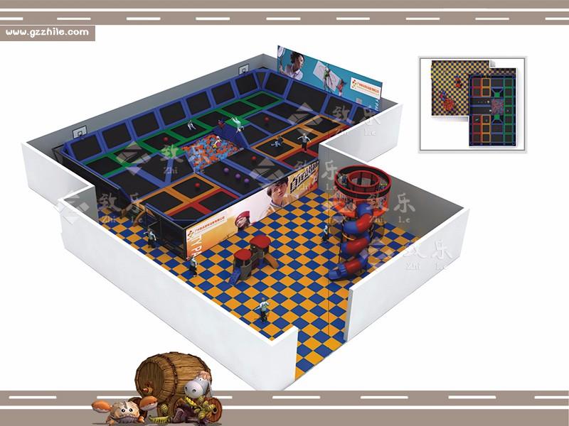 儿童乐园淘气堡的场地免费规划