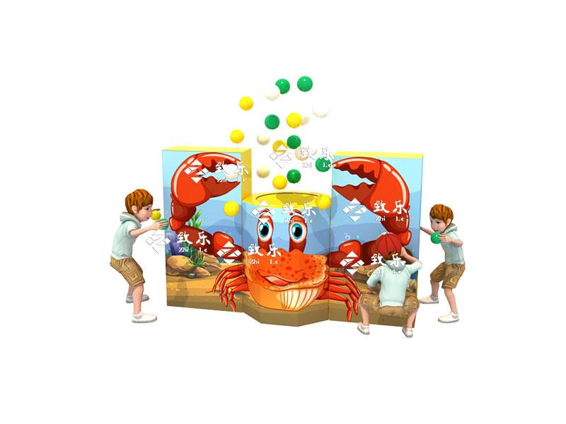 儿童乐园新游乐设备-螃蟹超人