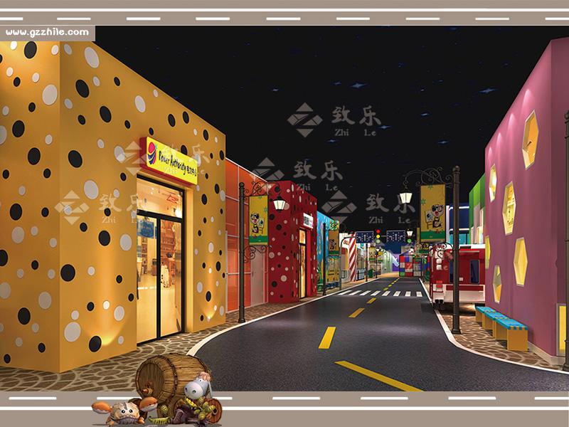 儿童乐园衍生设备街道设施
