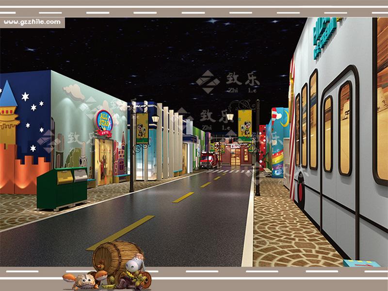 儿童乐园衍生设备设施街道装修