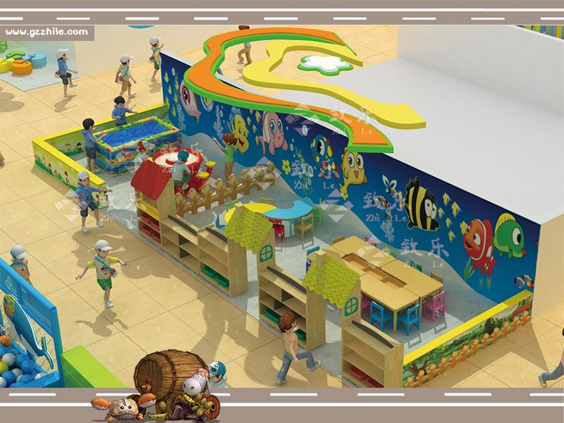 儿童乐园衍生设备淘气堡门口设施