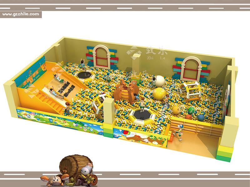儿童乐园游乐设备个性设计