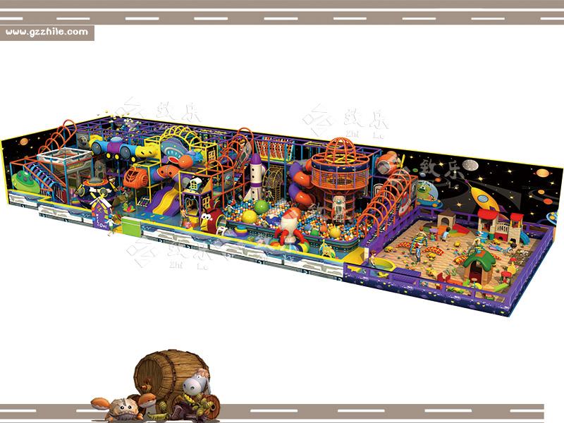 大型淘气堡综合乐园