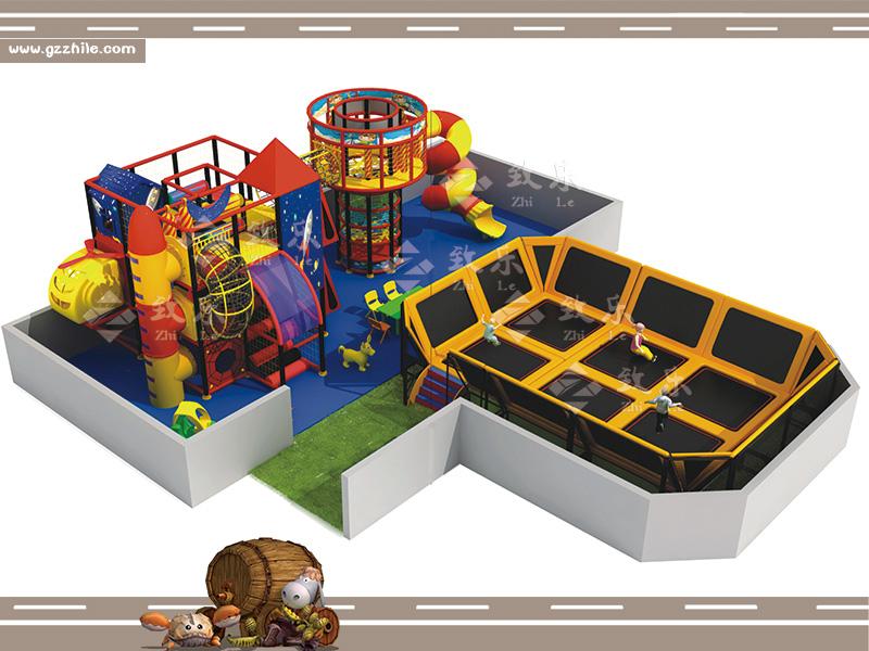 儿童乐园-蹦床