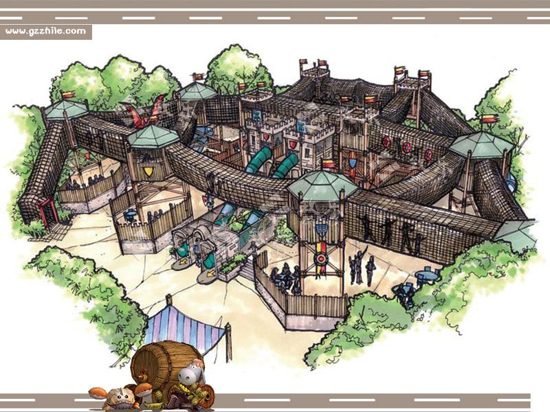 儿童乐园-拓展主题