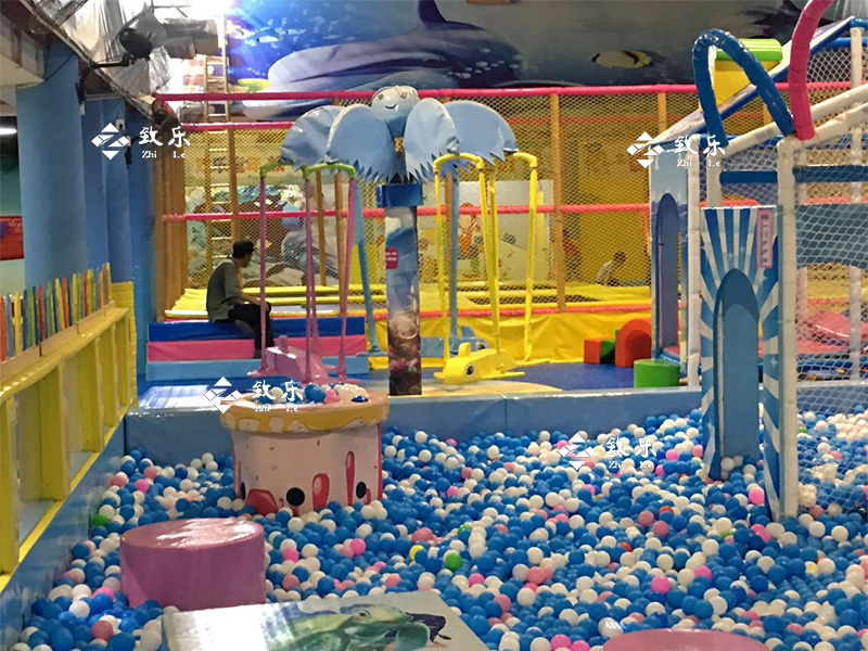 淘气堡设备儿童乐园球池案例