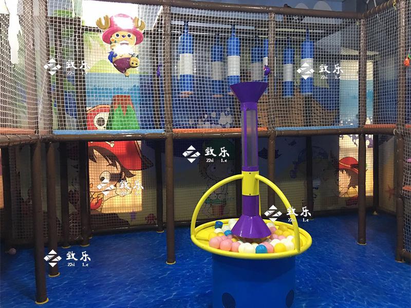 深圳宝安区淘气堡儿童乐园案例