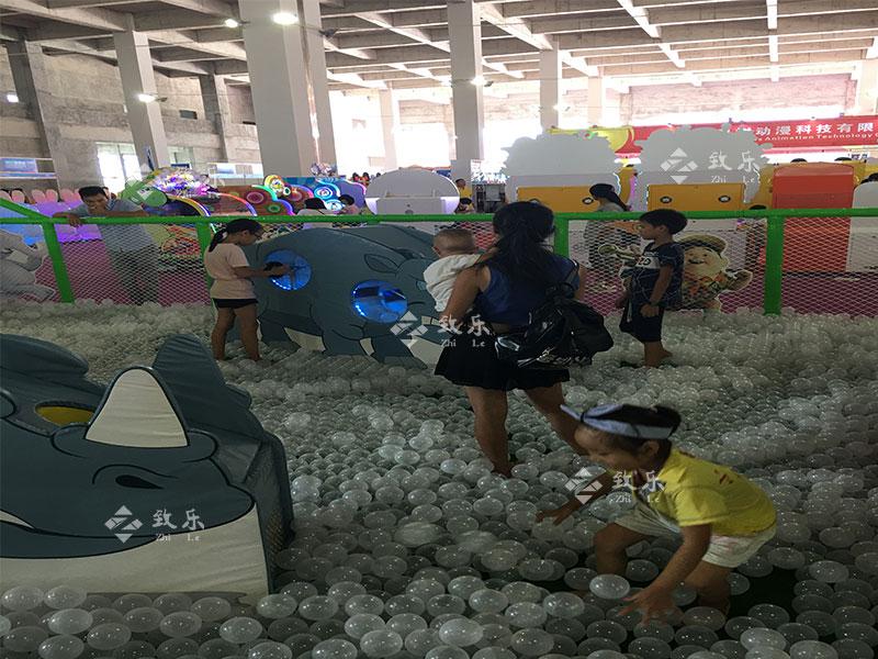 海洋球池案例图片